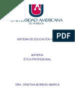 Antología de Ética Profesional