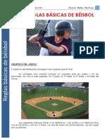 Reglas Básicas de Beisbol