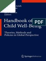 Ben Arieh Casas Frones & Korbin 2013 Handbook of Child Well-Being