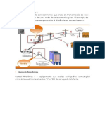 Topologia Instalação de Linha Telefonica e Internet