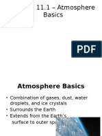 the atmosphere basics