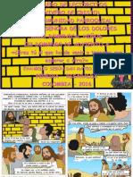 HOJITA EVANGELIO NIÑOS DOMINGO III ADVIENTO A SERIE