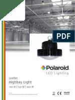 Polaroid-Leaflet - Highbay Light Eng