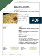 Receita Batatas Fritas No Microondas - Petitchef
