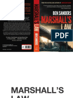 Marshall's Law by Ben Sanders - excerpt
