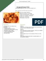Receita Karague(Frango Frito) - Petitchef