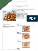 Receita Mini Croissants Pizza de Queijo e Fiambre - Petitchef