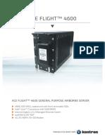 Ace Flight 4600 Datasheet