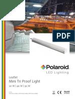 Polaroid-Leaflet - Mini Tri Proof Light Eng