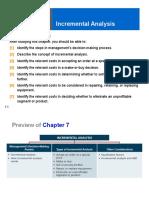 Ch07 Incremental Analysis