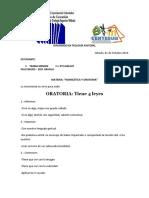 Lista Upel Diplomado Homilética y Oratoria...