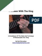 BB King Lesson 2