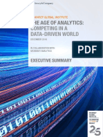 The Age of Analytics Executive Summary