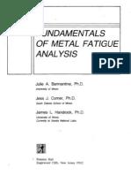 Fundamentals Metal Fatigue