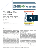 170578580 the 1 Hour Plan for Growth