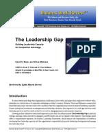 175305398 the Leadership Gap PDF
