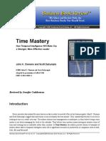 175923721 Time Mastery PDF