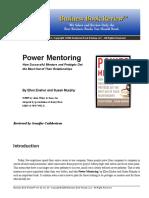 177170826 Power Mentoring PDF