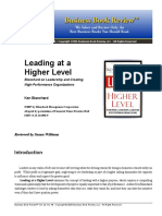 177144893 Leading at a Higher Level PDF