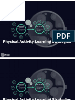 physical activity learning strategies