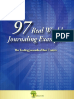 Trading Journals of Real Traders