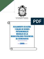 Plan_11857_reglamento de Altas y Bajas_2009