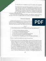 De Ansorena (1997) - Proceso de Seleccion