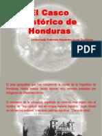 El Casco Historico de Tegucigalpa