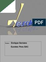 091019 Eurotec CHARLA TECNICA 2009 CAP v2 de DL.ppt