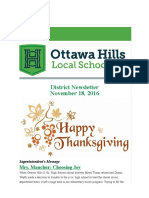 ottawa hills district newsletter 111816