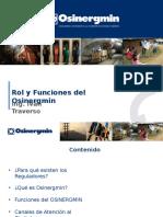 Rol y Funciones Del Osinergmin (1)