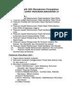 UAS Manajemen Perpajakan Reguler I JP-A27