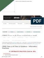 IP Syllabus