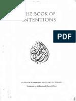 Book of Intentions by Habib Muhamad Bin Alawi Al Aydarus_text
