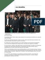 Temer Quase Se Demitiu - 04-12-2016 - Clóvis Rossi - Colunistas - Folha de S