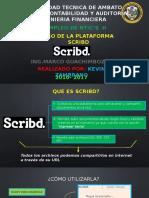 Uso de la Plataforma Scribd