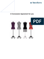 Concession Agreement (DEPT STORE)