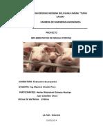 Implementacion de Granja Porcina