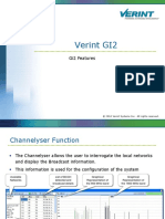 Verint GI2. Gi2 Features. 2010 Verint Systems Inc. All Rights Reserved.