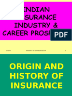 Insurance Industry & Career Prospects