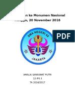 Kunjungan Ke Monumen Nasional