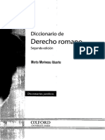 - Diccionario de Derecho Romano 2da Edicion