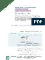 Marginal Analysis[1]