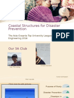 Coastal Structures for Disaster Prevention