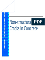 Non Structural Crack