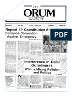 The Forum Gazette Vol. 3 No. 14 July 20-August 4, 1988