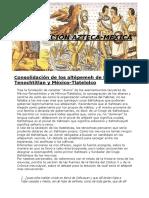Civilización Azteca Mexica2