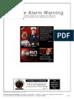 Smoke Alarm Warning Report Sent to HNZC