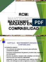 Curso Rcm Mantenimiento Basado Confiabilidad Tecsup.