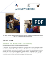 week of december 5 - 7th grade newsletter